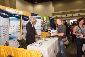 trade show table