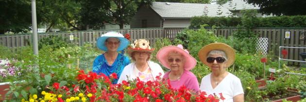 Growing your tenant community through gardening