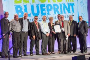 PHARA receiving Innovation Award