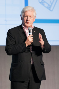 Bob Rae giving keynote address