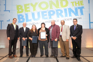 Tenants receiving Tenant Achievement Recognition Awards
