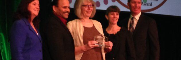 ONPHA receives International Service Award