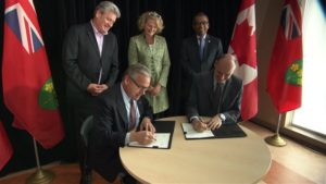 Provincial-Federal funding announcement