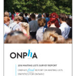 ONPHA's 2016 Waiting Lists Survey Report