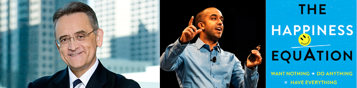 Conference keynote speakers Richard C. Gentry and Neil Pasricha