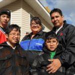 urban aboriginal family