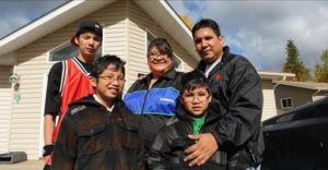 urban aboriginal family