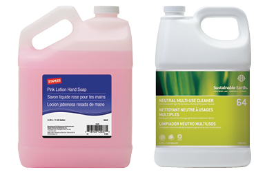 Staples Liquid Cleaning supplies