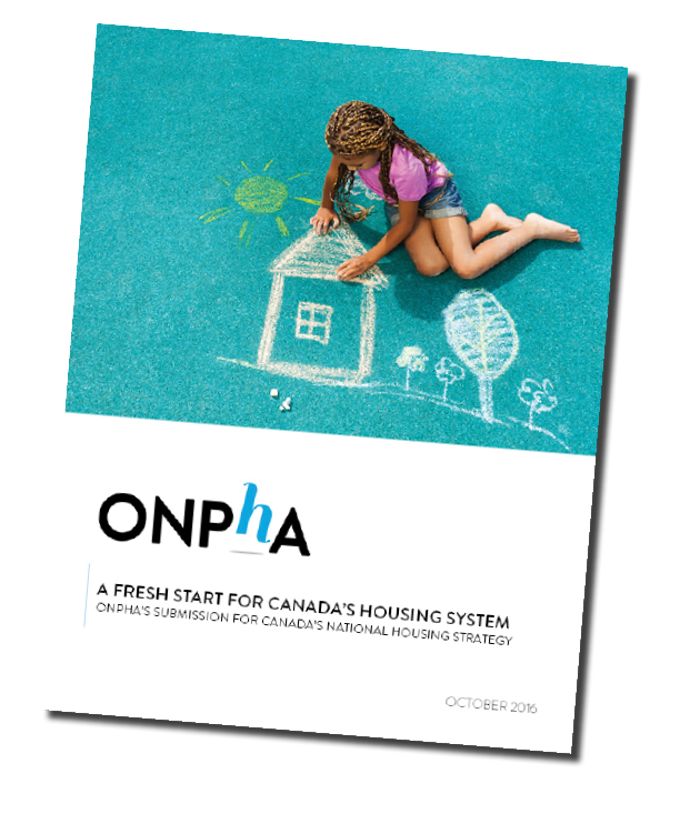 ONPHA submision for National Housing Strategy