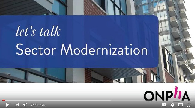 """Let's Talk Sector Modernization"""