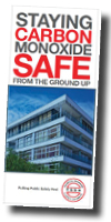 Cover of the TSSA's brochure Carbon Monoxide Safe