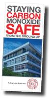 Cover of the TSSA's brochure Carbon Monoxide Safe