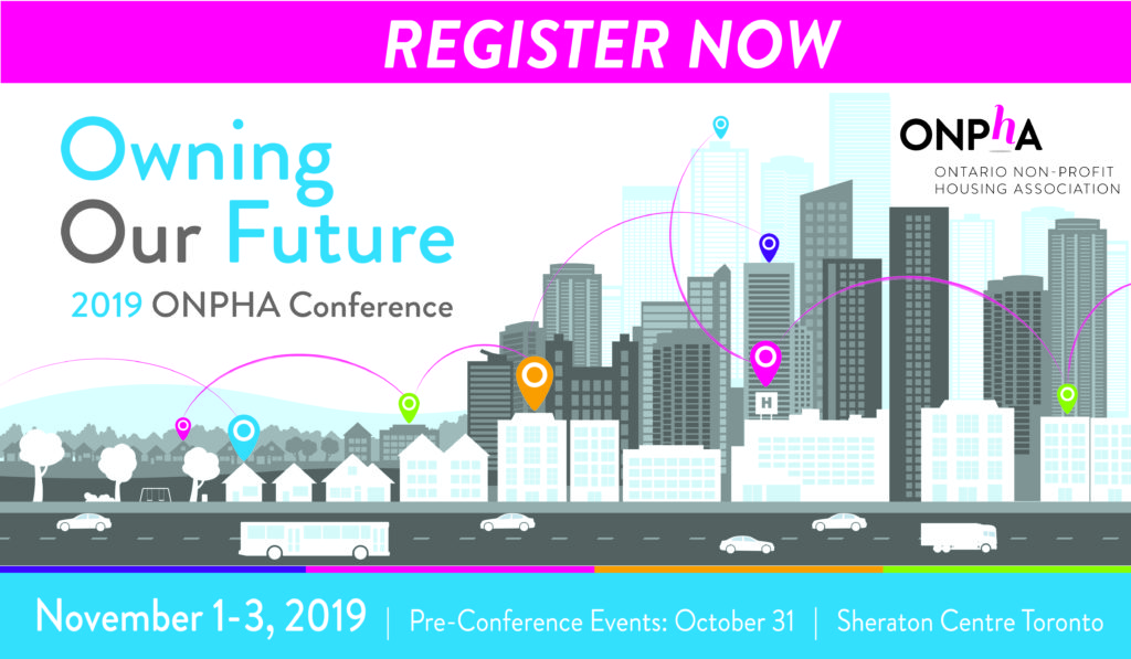 Register Now for the 2019 ONPHA Conference