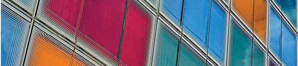 Colourful window frames