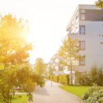 A housing community with plenty of greenspace