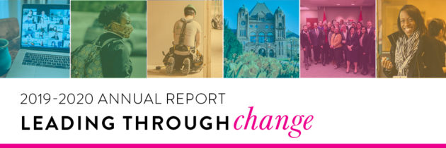 Leading through change: ONPHA's 2019-2020 Annual Report