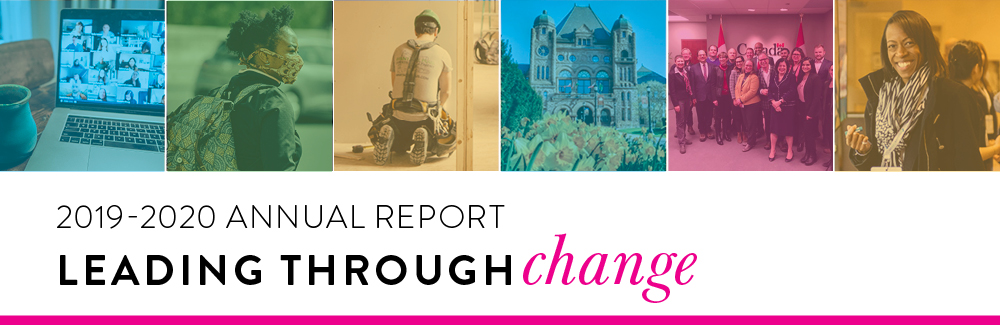 2019-2020 Annual Report: Leading through change