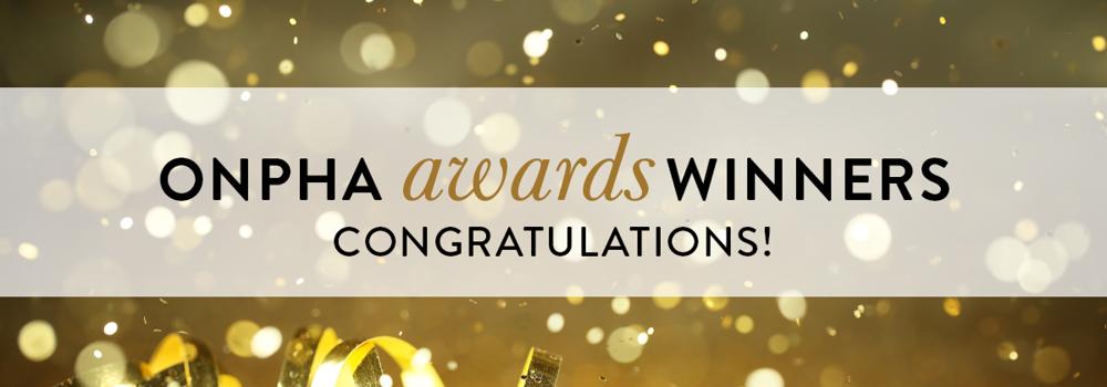 ONPHA Awards winners, congratulations!