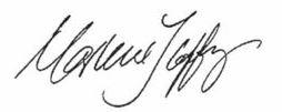Signature: Marlene Coffey