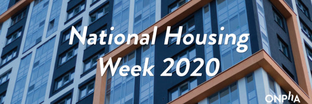 National Housing Week 2020: Reflections from ONPHA CEO Marlene Coffey