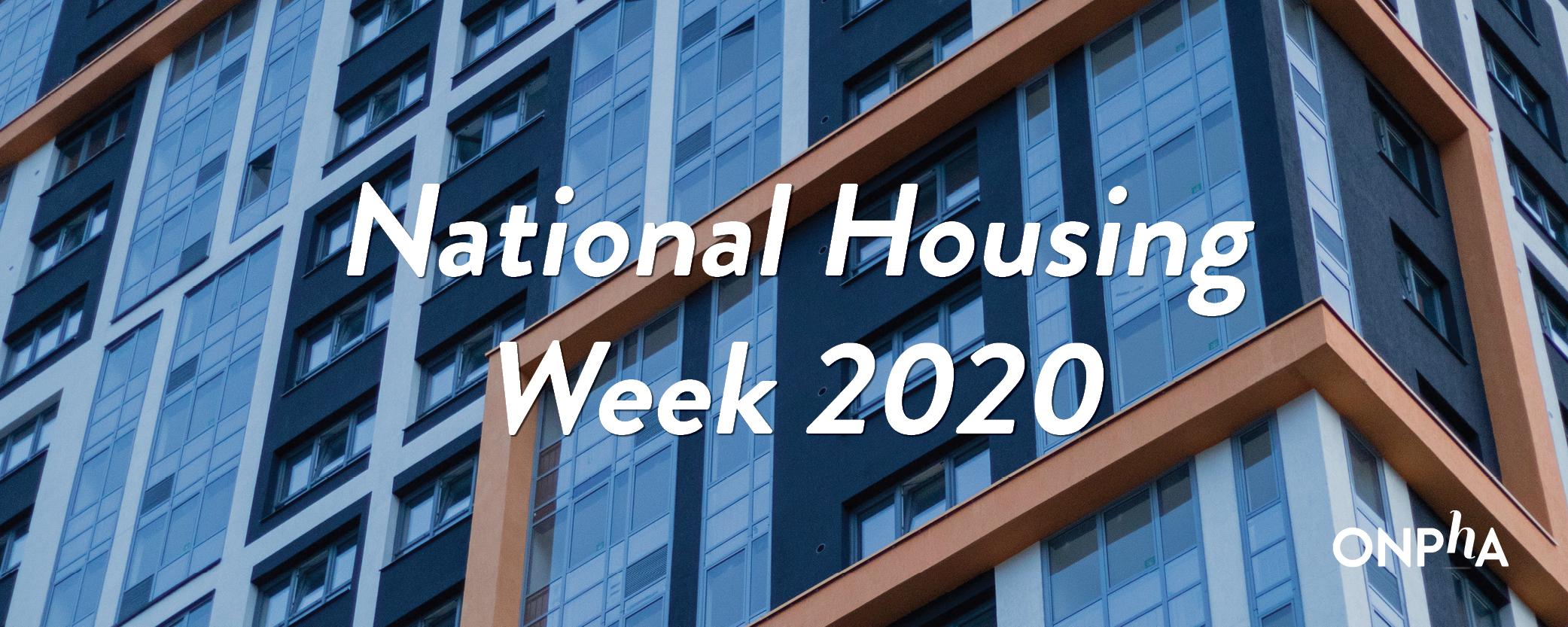 National Housing Week 2020