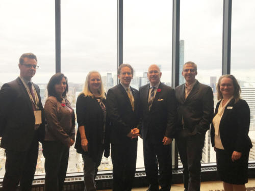 Breakfast meeting with The Honourable Steve Clark, Minister of Municipal Affairs and Housing